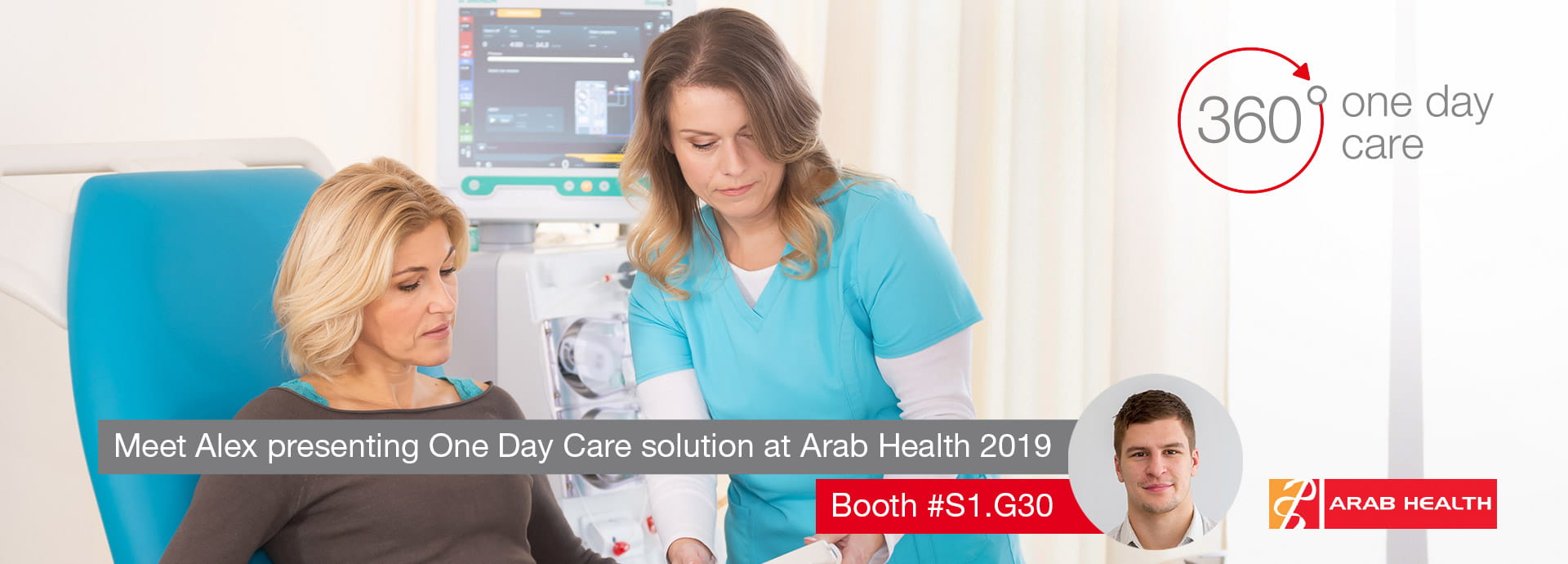 Arab Health 2019 One day care